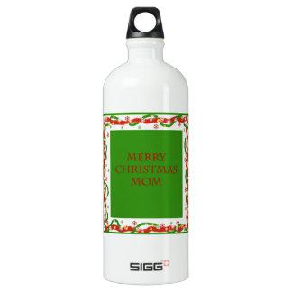 Merry Christmas Mom Water Bottle