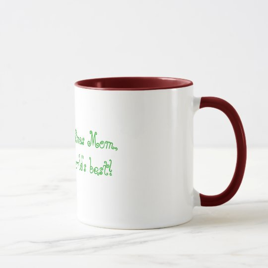 Merry Christmas Mom, Your the world's best! Mug