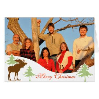 Merry Christmas Moose 3 Pines Card
