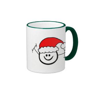 Merry Christmas Morse Code Happy Ham Mug