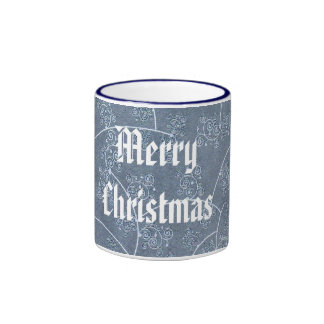 Merry Christmas mosquito Ringer Coffee Mug