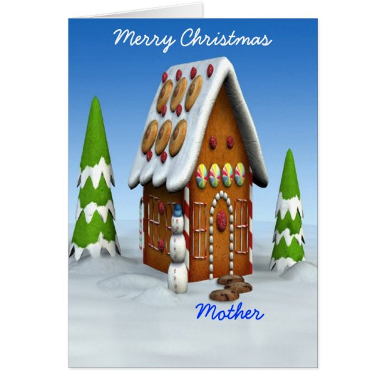 Merry Christmas-Mother Card
