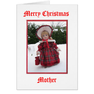 Merry Christmas Mother Greeting Card