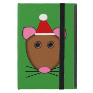 Merry Christmas Mouse iPad Mini Case