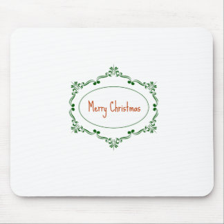 Merry Christmas! Mouse Pad