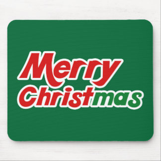Merry Christmas Mousepads