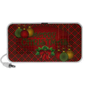 Merry Christmas Mp3 Speakers