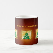 christmas, christmas gift, merry christmas, christmas design, festive design, xmas, decorative, season greetings, holiday gift, customizable, christmas tree, gift, contemporary, whimsical, merry, cheerful, illustration, houk, custom, personalizable, happy new year, winter, eerie, wishes, Mug with custom graphic design