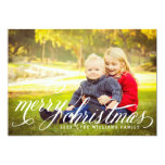 Merry Christmas | Multi-Photo Holiday Card Personalized Invites