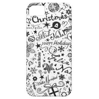 Merry Christmas Multiple Languages iPhone SE/5/5s Case