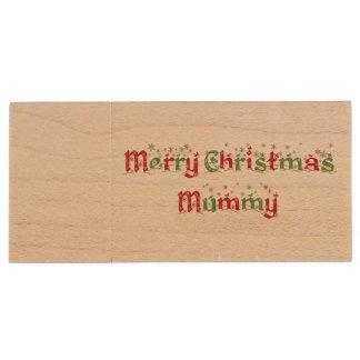 Merry Christmas Mummy Flash Drive