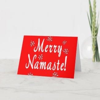 Namaste Cards card