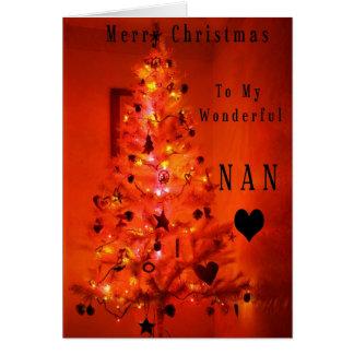 Merry Christmas Nan Card