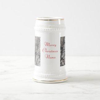 Merry Christmas Nana Beer Stein