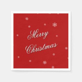 Merry Christmas Napkins