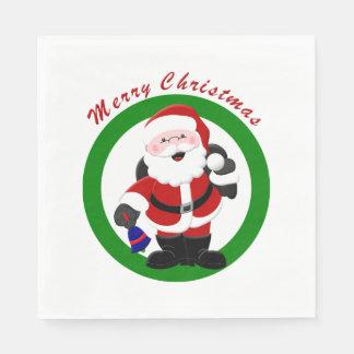 Merry Christmas Napkins 2