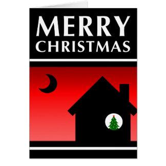 merry christmas new address announcement