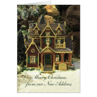 Merry Christmas - New Address Christmas Card