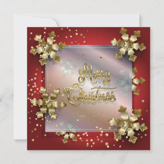 merry christmas  new year 2021 gold luxury holiday card