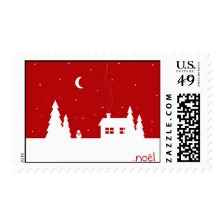 Merry Christmas Noel Stamp