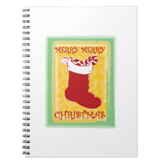 Merry Christmas Note Books