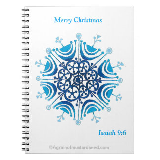 Merry Christmas Notebooks