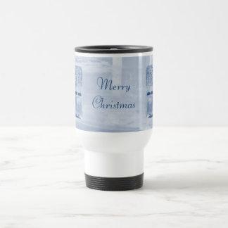 Merry Christmas on Ice Mug