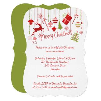 Merry Christmas Open House Invitation