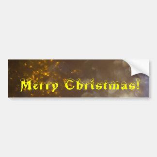 Merry Christmas Ornament 3 Bumper Sticker