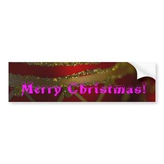 Merry Christmas Ornament 4 Bumper Sticker