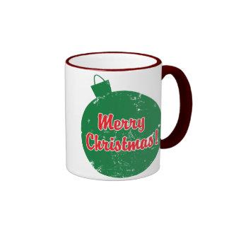 Merry Christmas Ornament Coffee Mug
