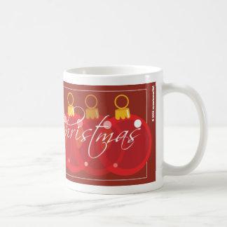 Merry Christmas Ornament Design Coffee Mug