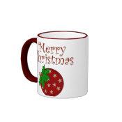 Merry Christmas Ornament Mug mug