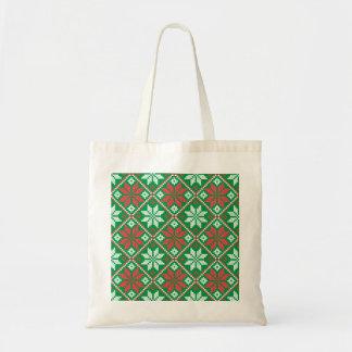 Merry Christmas Ornament Tote Bag