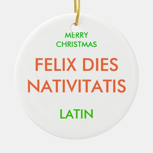 MERRY CHRISTMAS, ORNAMENTS