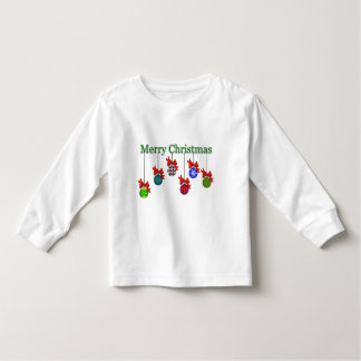 Merry Christmas & Ornaments Kids T-Shirt