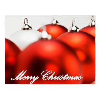 Merry Christmas Ornaments Postcard