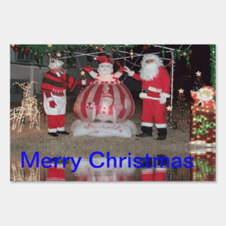 Merry Christmas Outdoor Decoration Yard Sign