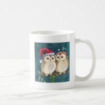 Merry-christmas Owls Coffee Mug