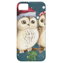 Merry-christmas Owls iPhone SE/5/5s Case