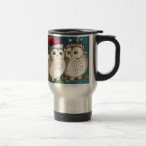 Merry-christmas Owls Travel Mug