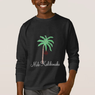 Merry Christmas Palm Kids Shirt-Mele Kalikimaka T-Shirt