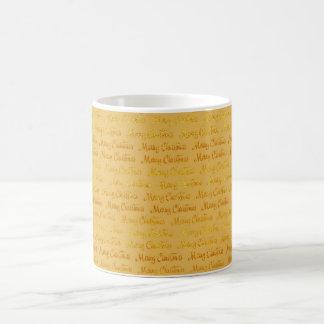 Merry Christmas Paper Coffee Cup Mug