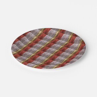 Merry Christmas Party Gold Silver Paper Plates