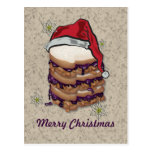 Merry Christmas Peanut Butter and Jelly Sandwiches Post Card