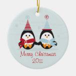 Merry Christmas Penguin! Ornament