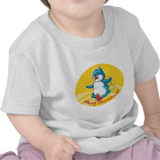 Merry Christmas Penguin Tshirts