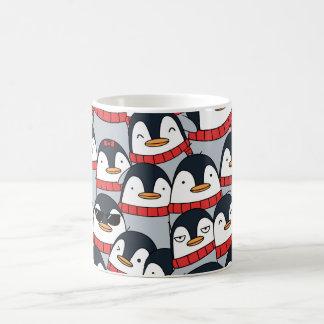 Merry Christmas Penguins Coffee Mug