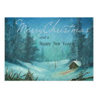 Merry Christmas Personalized Invite