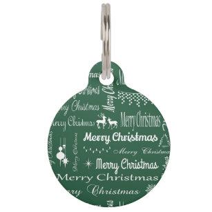 merry christmas pet name tag - Christmas Pet Names